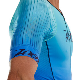 Zoot LTD Tri Aero Full Zip Racesuit Plus Uomo, sunset
